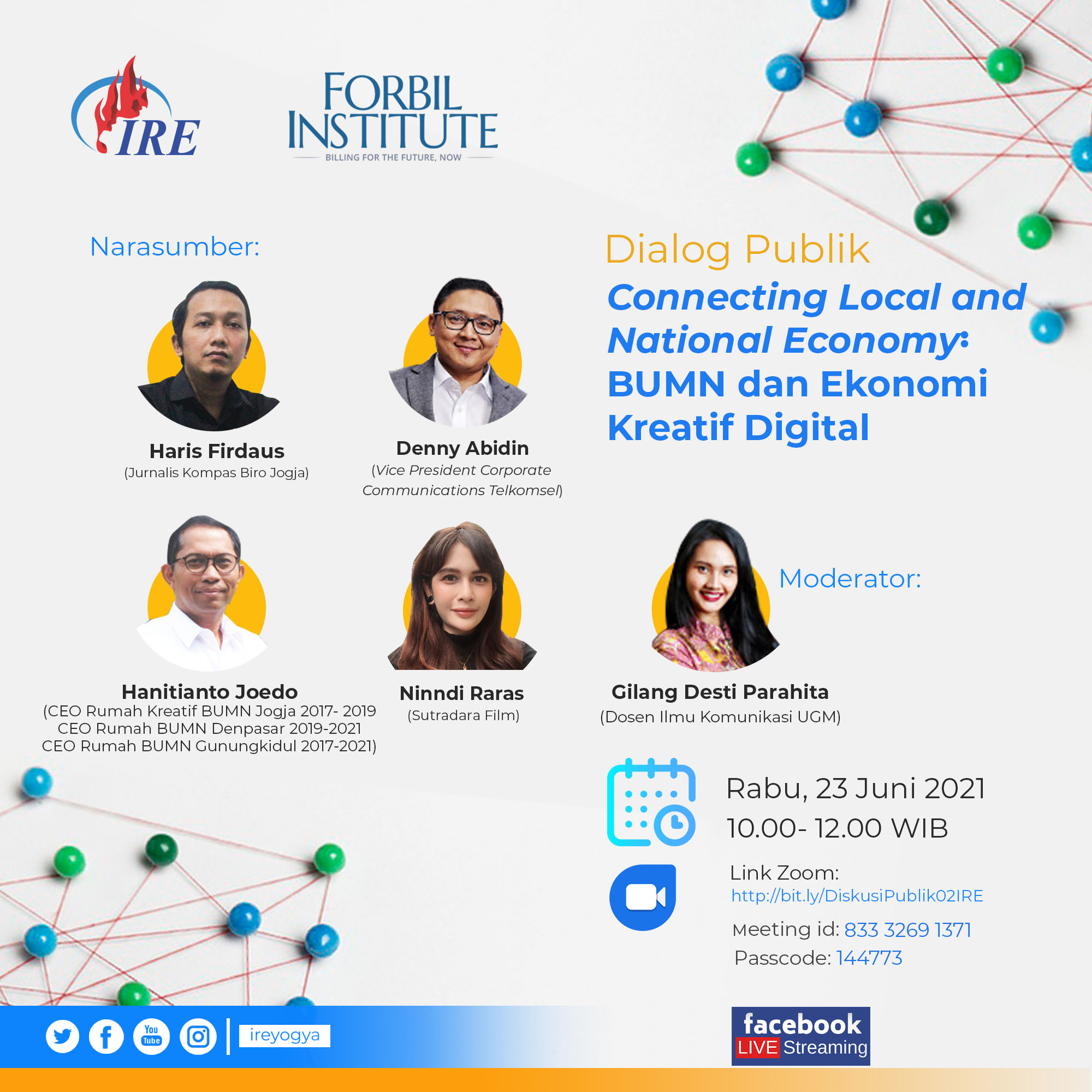 Poster Dialog Publik Connecting Local and National Economy_Fix 2021